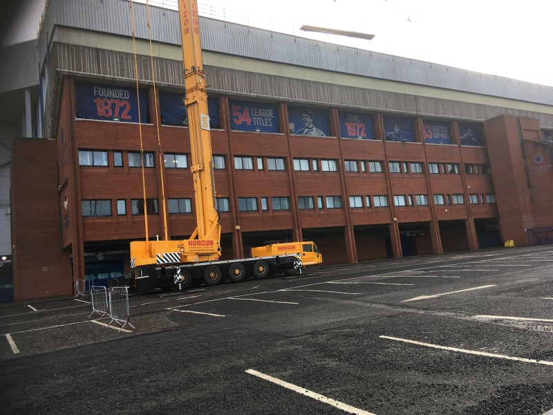 CS23; Ibrox Stadium, Overclad